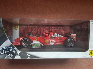 Hotwheels 1/18 Ferrari F2004 Michael Schumacher 7 times World Champion