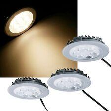 3er Set LED Lampes encastrées EEK : A+ 510lm 230V 9W montage de meubles Spot