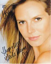 HEIDI KLUM Autographed Signed Photograph - To Lori