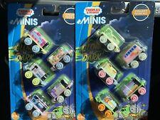 Thomas & Friends Minis Glow in the Dark 10 Train Set Same Day Shipping