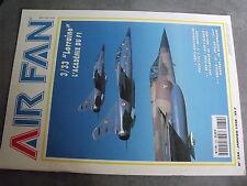 $$s Revue Air Fan N°230 3/33 Lorraine  EC 1/3 Navarre  Squalo  Spalax 1997