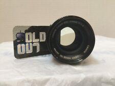 Canon FD 50mm 1:1.4 S.S.C. Vintage Prime Fast SLR Camera Lens