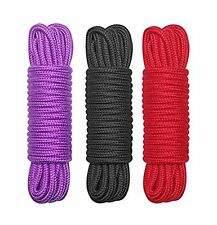 All-Purpose Soft Cotton Rope,32 Feet Length,1/3-Inch Diameter (Pack of 3)