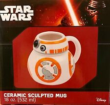 Star Wars BB-8 Molded Ceramic 18 Oz COFFEE MUG The Force Awakens Episode 7