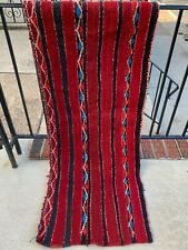 Tribal Authentic Moroccan Handmade Berber Rug Beni Ourain Atlas Mountains