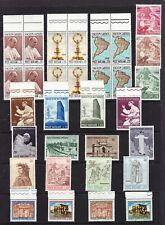 Vatican 8 sets, inc blocks MNH L4448