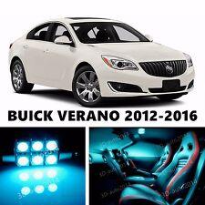 14pcs LED ICE Blue Light Interior Package Kit for  BUICK VERANO
