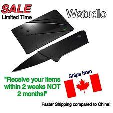 New! Cardsharp Credit Card Folding Razor Sharp Wallet Knife SHIPS FROM CANADA!