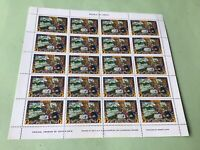 Liberia Arthur Szyk One Cent full mint never hinged stamps sheet  Ref 52219