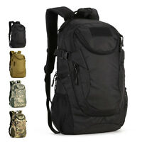 Sac à dos Homme Nylon Militaire Tactique D'épaule Trekking Messager Backpack Bag