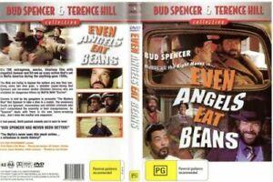 Even Angels Eat Beans DVD Terence Hill & Bud Spencer Brand New Sealed Australia