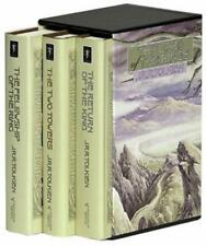 Tolkien ~ BOXED LORD OF THE RINGS ~ ALAN LEE COVERS & LEE DECORATED SLIPCASE