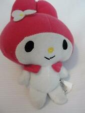 "Small 7"" Sanrio MY MELODY Hello Kitty White/Pink Plush Doll/Toy"