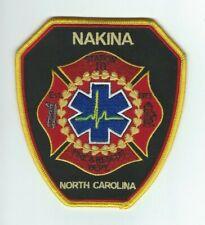 NORTH CAROLINA - Nakina Fire & Rescue Dept. Station 10 patch
