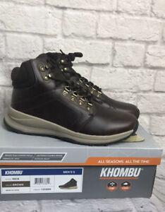 Khombu Men's Nick Hiking Boots - LIGHT BROWN (Select Size) * FAST SHIPPING *