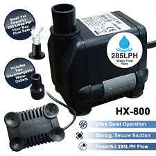 NEW Hailea HX800 Immersible Micro Jet Under Water Pump Hydroponics NFT Grow Tank
