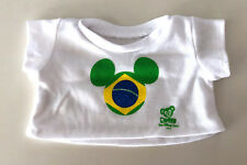 Disney Parks Duffy Mickey Mouse Bear Brazil T Shirt  SHIRT ONLY NEW