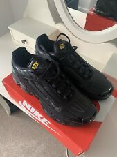 Mens Nike Air TN Plus 3 Size 11 Black