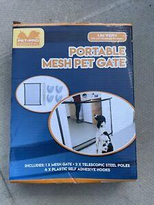 PMS Pet Safe Portable Folding Magic Net - Black/White