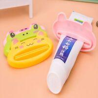Wash Cartoon Toothpaste Dispenser Toothbrush Holder Animal Toothpaste Squeezer