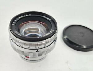 Vintage Soviet Jupiter-8M Lens Carl Zeiss Sonnar Lens Film Camera USSR 1970s