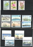British Virgin Islands 1990-2001 sets MNH