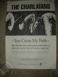 The Charlatans - You Cross my Path - PROMO POSTER