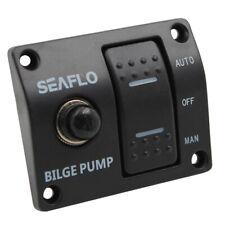 SEAFLO Panneau de commande de pompe de cale à 3 voies Automatique / Arrêt