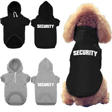 SECURITY Winter Dog Clothes for Small Pet Warm Hoodie Jacket Puppy Coat Medium