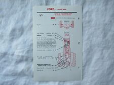 Ford 9000 tractor lubrication guide chart