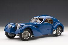 AUTOart 70943 - 1/18 Signature Bugatti 57S Atlantic 1938 (blue/metal wire spoke