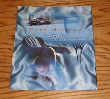 Original 1997 Buick Park Avenue Sales Brochure 97