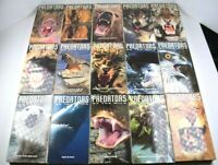 """Time Life """"Predators of the Wild"""" VHS Video Tapes Lot of 15 All Different"""