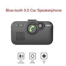 SUNITEC Bluetooth 5.0 Visor Car Kits Speakerphone Support Siri Google Assistants