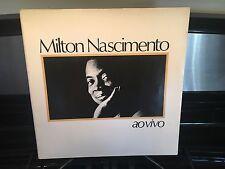 MILTON NASCIMENTO -Ao Vivo~BARCLAY 817 317 {nm orig}*1983* FOLD OPEN COVER >RARE