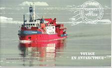 """FSAT TAAF T.A.A.F Carnet de voyage n°7 """"Voyage en Antarctique"""" ANNEE 2013"""
