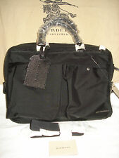 100% AUTH NEW BURBERRY NEWBERG SMALL BRIEFCASE/LAPTOP/MESSENGER BAG