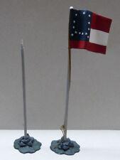 Frontline Figures, 2 banderas norteamericanas guerra civil, era civil 1/32