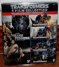 COLLECTION COMPLÈTE 1-5 TRANSFORMERS 5 BLU-RAY+BR EXTRAS CASTILLAN NEUF ACTION