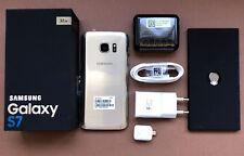 SAMSUNG GALAXY S7  32GB ORIGINAL ORO LIBRE - GARANTIA 1 AÑO - CAJA + ACCESORIOS