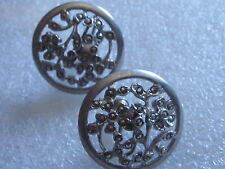 Unique Marcilite Sterling Silver Earrings