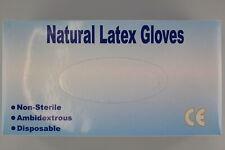 Einweghandschuhe Latex Handschuhe Einmalhandschuhe  M 100 St. sofort lieferbar