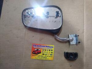 SPECCHIETTO RETROVISORE FIAT 500 F/L/R A MORSETTO NERO D'EPOCA ARSAUTO 275.110 S