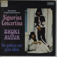 "7"" Single - Shuki Und Aviva - Signorina Concertina - s445 - washed & cleaned"