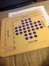 NEW & UNUSED ~ Multi-Game Wooden Board Game ~ Mancala Solitaire Roll-EM Cribbage