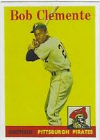 1958 ROBERTO CLEMENTE TOPPS # 52 PIRATES RP GREAT CARD