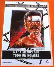 NADA MENOS QUE TODO UN HOMBRE - Francisco Rabal / Rafael Gil DVD R 2 Precintada