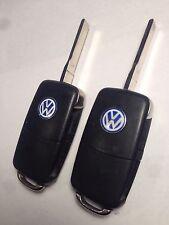 OEM VW VOLKSWAGEN UNCUT KEY KEYLESS ENTRY REMOTE HLO 1JO 959 753 DC TRANSMITTER