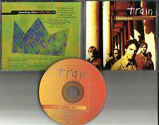 TRAIN Something more w/ RARE POP MIX PROMO DJ CD single 2001 w/ PRINTED LYRICS