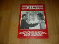 MONTHLY FILM BULLETIN  Flight to Berlin  cover Mar 84